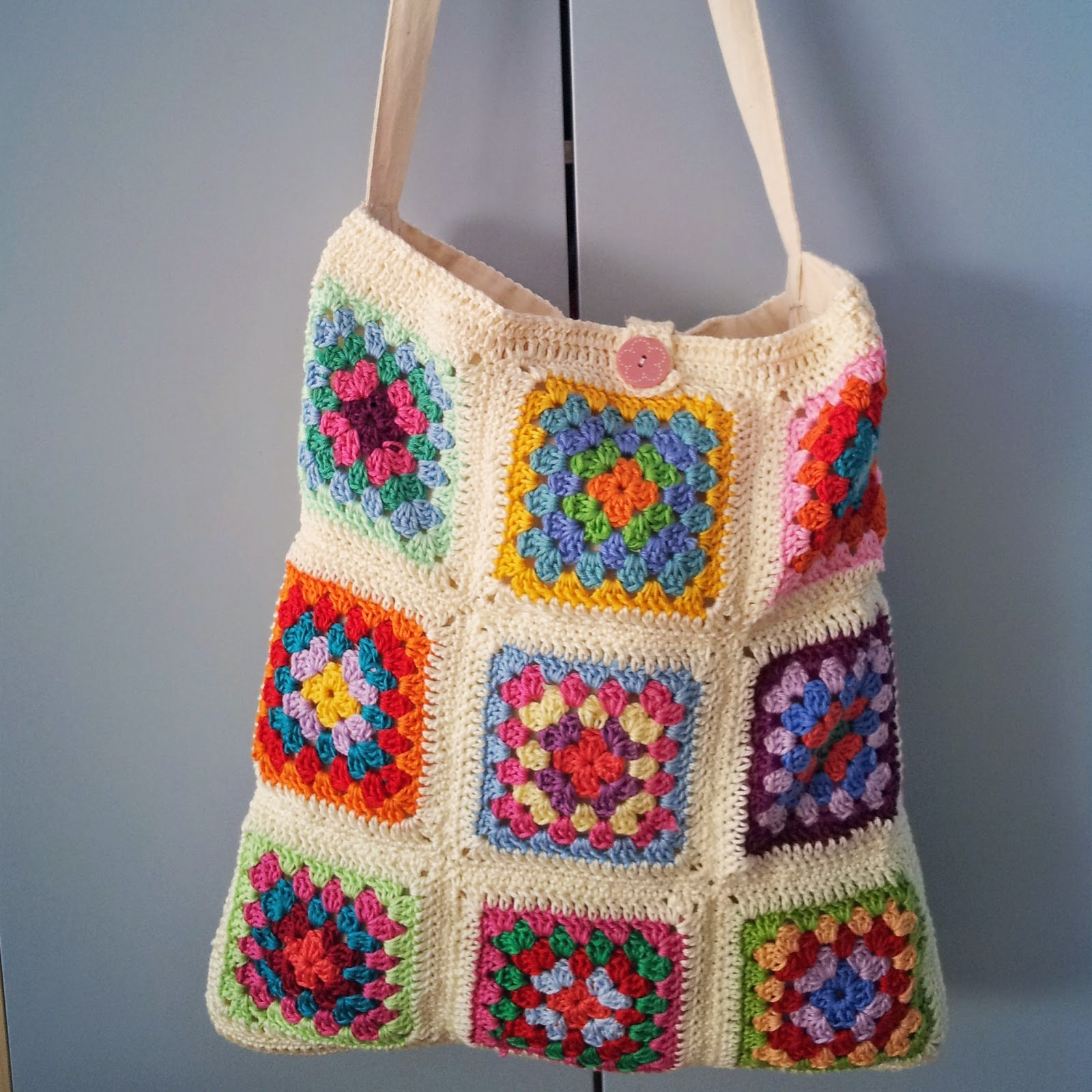The Adventures Of The Gingerbread Lady Tutorial Lo So Crochet Tote Bag