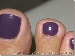 379 Eggplant KIKO Nail Lacquer