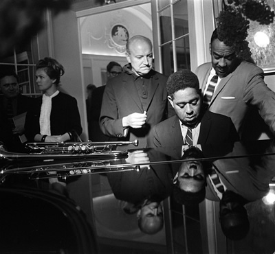 Dizzy Gillespie Jazz Man July 1963 at Fort Belvedere Near Ascot 7.jpg