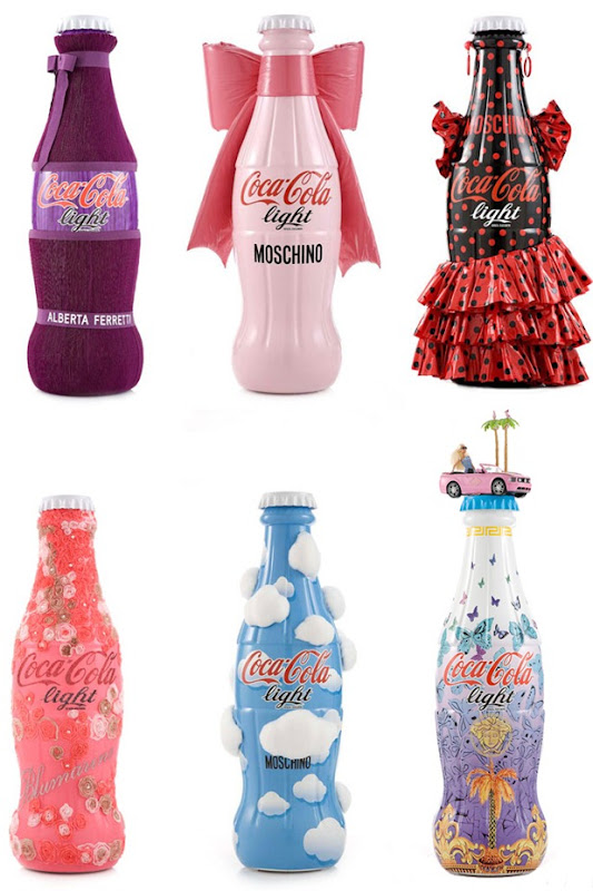 tribute to fashion by coca cola
