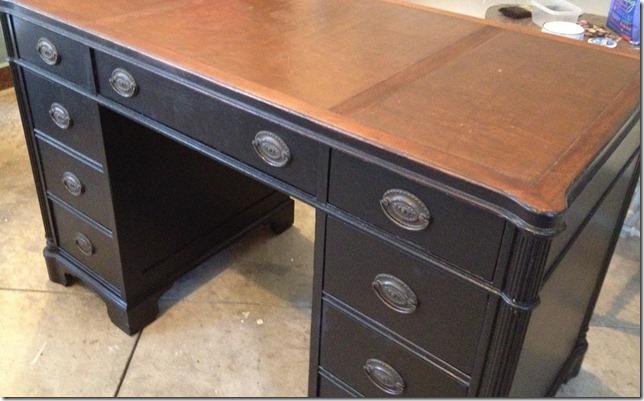 black desk 008