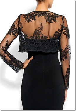 Slim-fit lace bolero2