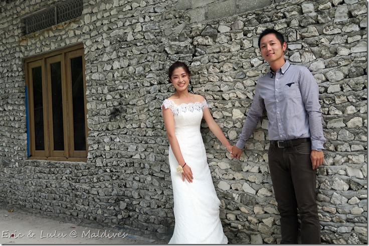 馬爾地夫腳架婚紗 (3)