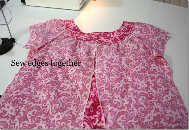 edge sewn