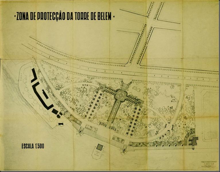 1956 Zona de protecção da Torre de Belém