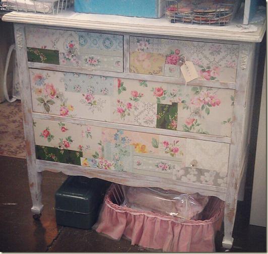 wallpaper dresser