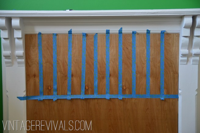 Mantle Headboard Update @ Vintage Revivals-9