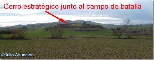 Cerro estratégico - Batalla de Valdejunquera