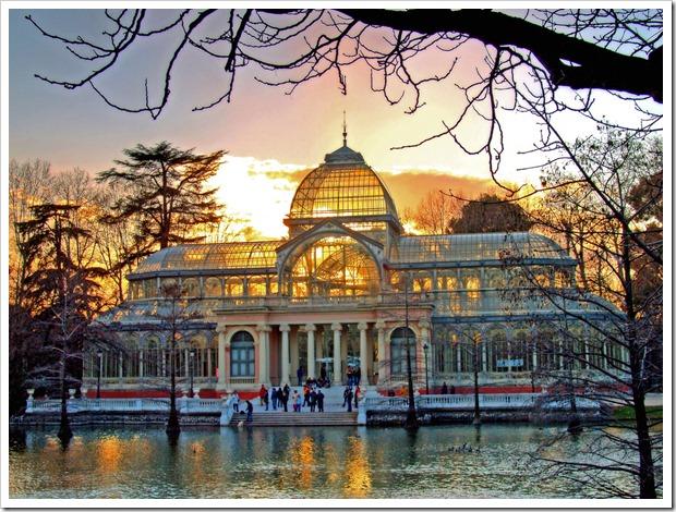 Madrid.Palacio de Cristal