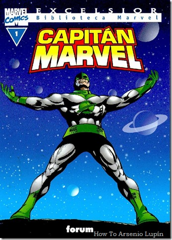 2012-03-31 - Biblioteca Marvel - Capitán Marvel
