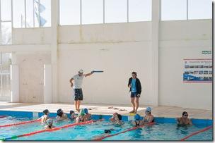 En el natatorio se dicta el curso de guardavidas y funciona el CEF Nº 130 de La Costa