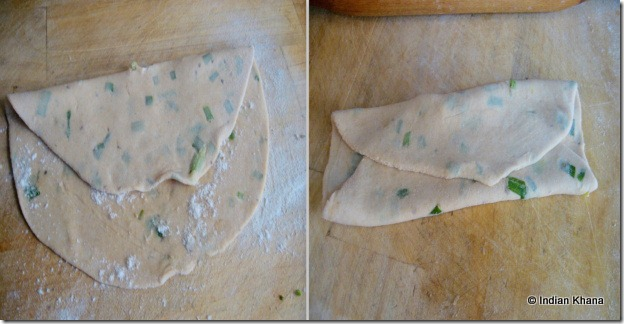 Folded parathas folded pancakes recipes