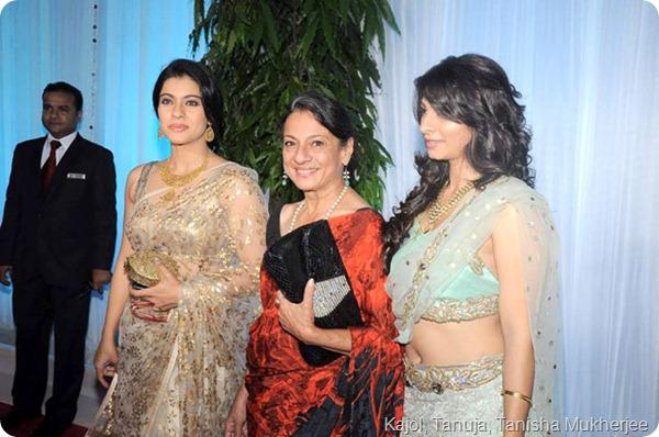 Kajol, Tanuja, Tanisha Mukherjee
