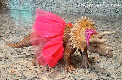 Princess dinosaur