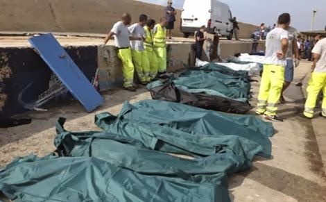 Mais de 90 imigrantes africanos morreram no mar e 250 estão desaparecidos