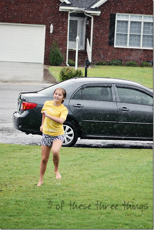 samie dancing in rain hurricane blog