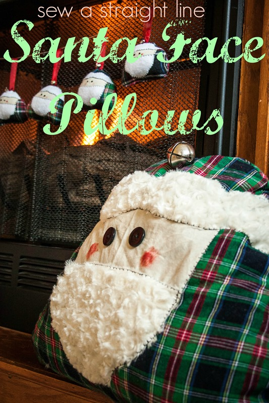 a santa face pillows sew a straight line-1