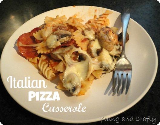 Italian Pizza Casserole