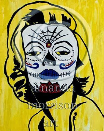 Sugar Skull Marilyn Monroe