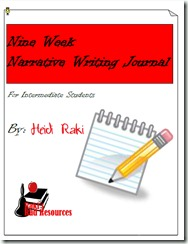 Narrative Writing Journal