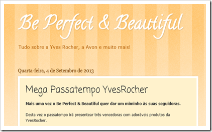 Be Perfect & Beautiful