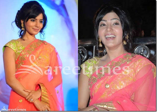 Samantha_Cap_Sleeves_Saree_Blouse