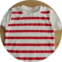 circle striped shirt