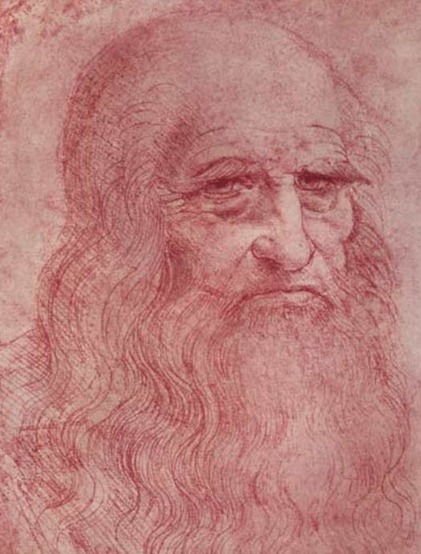 Leonardo Da Vinci's portrain of 'The Bearded Man'