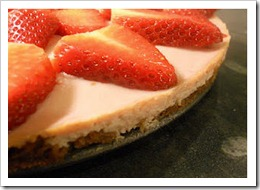 Strawberrytofucheesecake