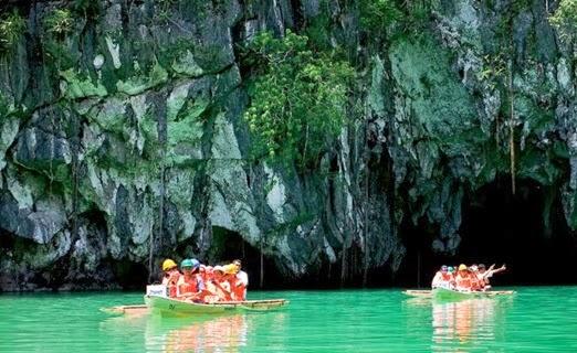 Underground River Palawan island