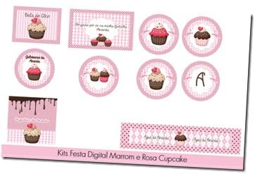 marrom e rosa cupcake (2)