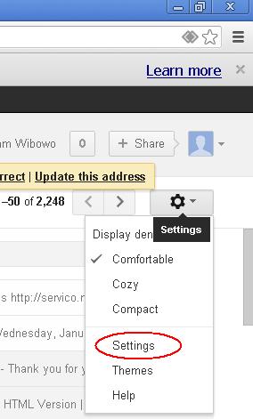 Menumpang di SMTP Gmail 1
