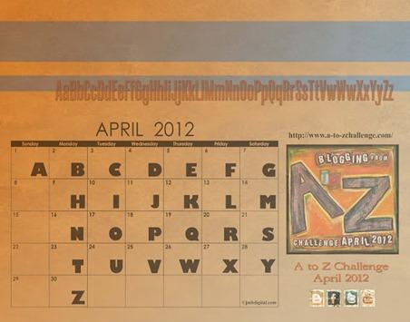 a-to-z-april