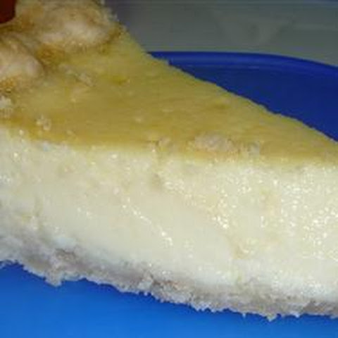Restaurant Style Egg Custard Pie