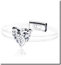 Alexander Fuchs Heart Shaped Diamond Ring