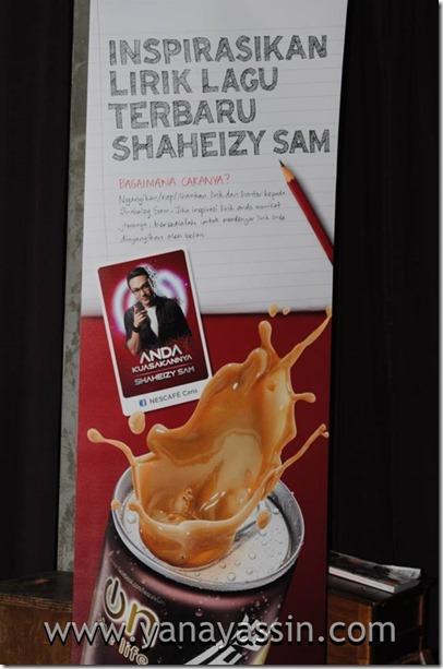Nescaffe Shaheizy Sam  100
