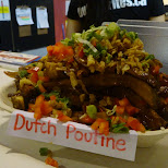 dutch poutine at the CNE in Toronto in Toronto, Ontario, Canada