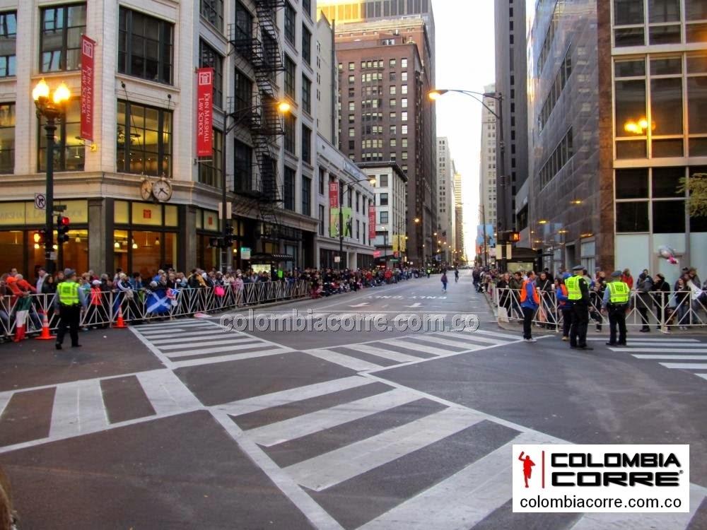 maraton de chicago 2014