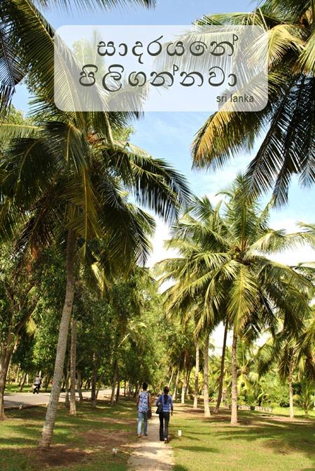 welcome srilanka