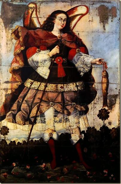 Maître de Calamarca, Archange Saint Raphaël