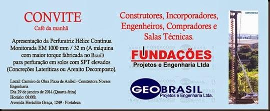 Geobrasil e Fundações