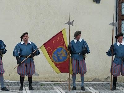 Soldati medievali Brasov