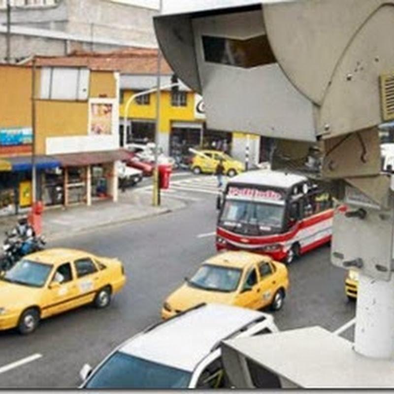 Tránsito: En Bogotá van más de 500 mil ciudadanos multados con las cámaras