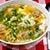 Zupa ryżowa z kulkami wieprzowymi i jajkiem