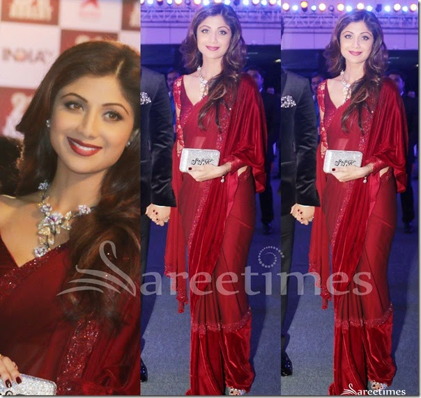 Shilpa_Shetty_Manish_Malhotra_Saree
