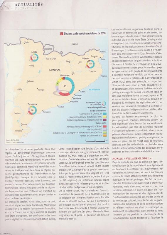 Nationalismes régionaux 2