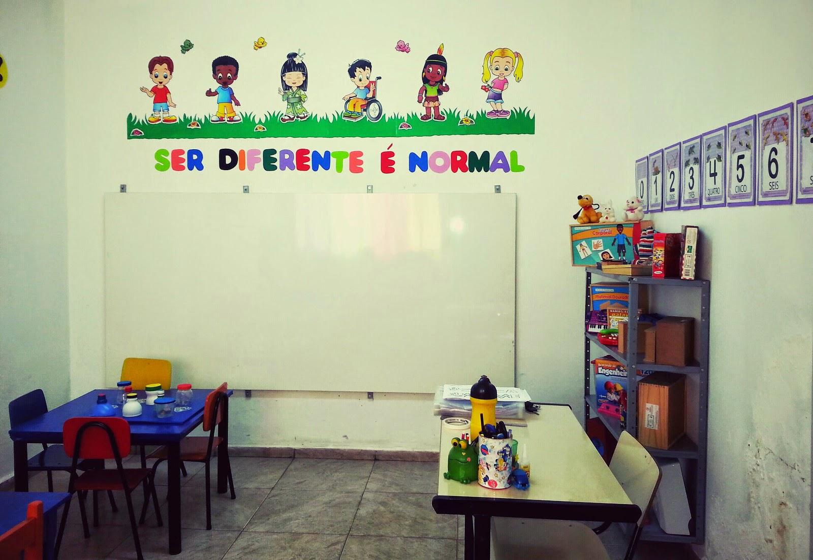 Sala De Recurso Multifuncional Prof M Rcia Ambrosim A Import Ncia  -> Decoracao Para Sala De Aee