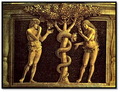 La fruta prohibida, Andrea Mantegna