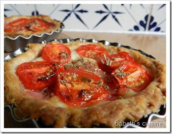 tartelette tomme tomates