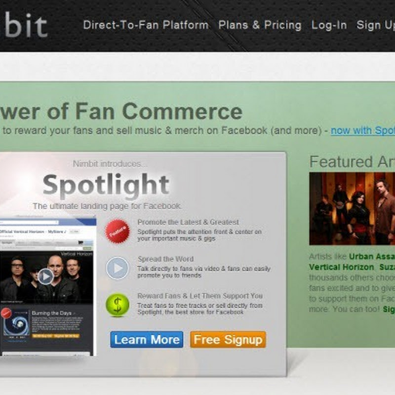 Top 4 Web Services for Indie Music Bands Compared
